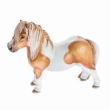 John Beswick JBH47 Shetland Pony Skewbald Horse Figurine