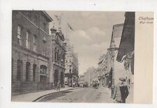 Chatham High Street Kent Vintage Postcard Wrench 368b