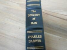 THE DESCENT OF MAN Charles Darwin Easton Press 1979 Leather Collector's Edition