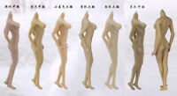 JIAOU DOLL Seamless Female Figure 1/6 Mid Bust Body With Non-detachable  Foot