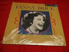 Fanny Brice The Original Funny Girl 1968 LP My Man Second Hand Rose Indian Blue
