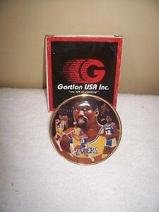 Magic Johnson Los Angeles Lakers Gartlan Miniature 3 Inch Collector Plate