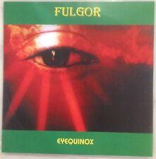 "FULGOR Eyequinox 7"" EP darkthrone storm baxaxaxa ungod desaster merciless samael"