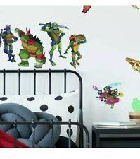 RoomMates Rise of the Teenage Mutant Ninja Turtles Peel & Stick 25 Wall Decals