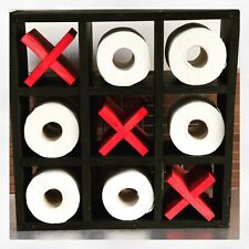 Noughts And Crosses Toilet Roll Holder