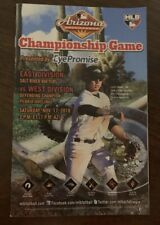 Arizona Fall League 2018 Championship Game Day Program AFL MLB Luis Urias