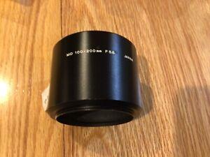 minolta Genuine Original Shade Metal Lens Hood For MD 100-200mm f/5.6