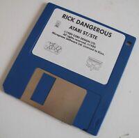 RICK DANGEROUS jeu / game for Atari 520 1040 ST / STF / STE / MEGA / MEGA STE