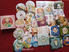 1 box 46 PCS Matryoshka doll Scrapbooking envelope diary Decorative sticker
