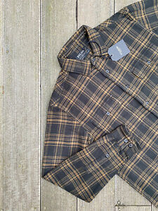 BNWT Filson VINTAGE FLANNEL WORK Shirt Check Western Mackinaw Cruiser £160
