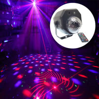 RGB LED Stage light Crystal Magic Ball With RG Laser Projector Party Effect lamp