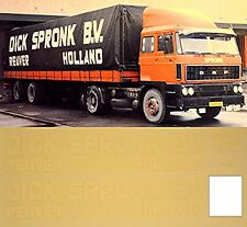 1:87 Camion Decalcomania, LKW decalcomania - DAF - DICK SPRONK B.V Olanda (NL)