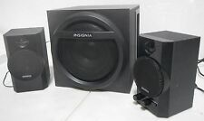 New listing insignia 2.1 bluetooth speaker system 32w total output (48940)