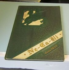 June 1939 New Castle PA High School Ne-Ca-Hi Yearbook Knights of Camelot Theme