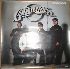 Commodores Rock Solid, Polygram promotional poster, 1988, 24x24, Ex, R&B
