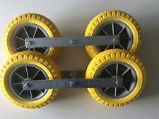 1 Paar pannensichere Sliprollen für Bootstrailer,Sliphilfe,Sliprolle,NEU