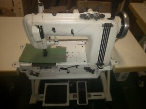 Singer 300W industrial sewing machine refurbished chain stitch with puller