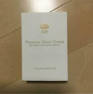 Not for sale Club Nintendo Limited Premium Mario Playing Cards NEW