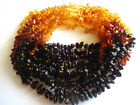 Lot-10 Genuine Baltic Amber NECKLACES- 13 inch - Choose your color