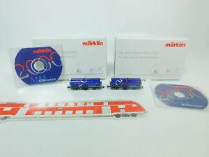 BP247-0,5 #2x Märklin Mini Club Voie Z / Dc Wagons De Millennium 2000,Mint + Box