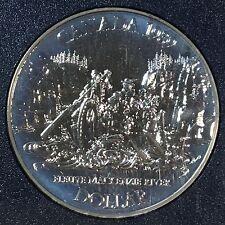 Canada 1989 Silver Dollar, KM-168, BU, MacKenzie River (Box5)