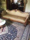 Antique Sofa Couch Civil War Era Parlor Sofa.