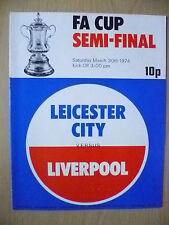 1974 FA CUP Semi Final- LEICESTER CITY v LIVERPOOL (Exc* Con.)