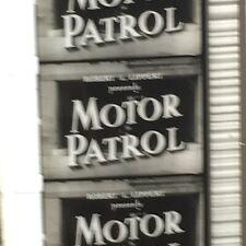 16mm Film MOTOR PATROL1950 Feature Motorcycle Cop  B Crime TV Print