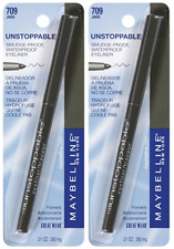 Maybelline New York Unstoppable Eyeliner Carded, Jade, 0.01 Ounce (2 Pack)