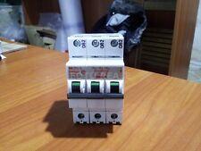 BTICINO E83/20 INTERRUTTORE AUTOMATICO MAGNETOTERMICO 3 POLI 3P 20A 6000 NUOVO