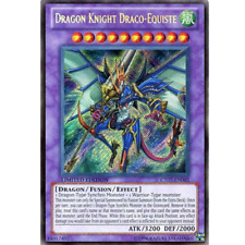 Dragon Knight Draco-Equiste - MINT - CT07-EN003 - Secret Rare - Limited Edition
