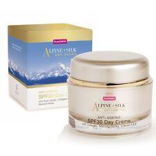 Alpine Silk Anti-Ageing SPF30 Day Creme Placenta Lanolin Manuka Collagen 50g