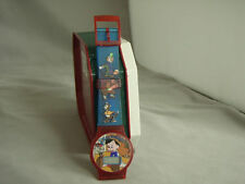 Vintage Pinocchio Red/Blue digital watch, New, no packaging