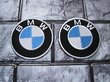 2x Aufnäher BMW Aufbügler Patch Motorcycles Motorradsport Autosport Tuning GT
