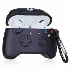 AirPods Pro Charging Charger Cartoon Skin Case Cover - Xbox 360 Controller Black
