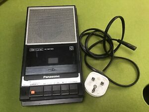 Vtg Slim Line Panasonic RQ-2734 Portable Cassette Tape Player Recorder Tested