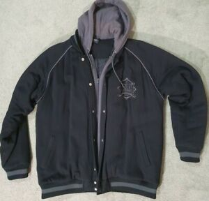 Everlast Boxing NYC Winter Jacket Hooded zipper and clips Size L