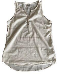 The North Face Womens Organic Cotton Tank Blouse Medium