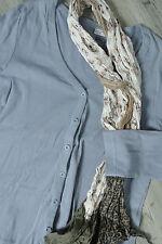 Outfit Classic NKD * Cardigan Weste * Flieder * Baumwolle * Ersatzknopf * Gr 48