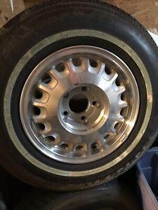 94-96 Buick Roadmaster 15x7 Aluminum Alloy Wheel Rim & New tire.