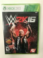WWE 2K16 Xbox 360 Brand New Factory Sealed NIB Complete CIB Microsoft Wrestling