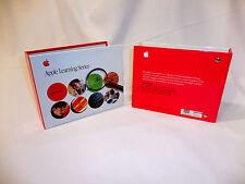 "Apple Learning Series EMPTY 2 Ring Binders ©2000 - 3 1/4"" Between Rings RARE X2"