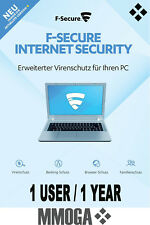 F-Secure Internet Security 2018 1PC 1 Año - tecla de descarga - VERSIÓN DE LA UE