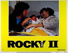 ROCKY II 1979 Sylvestor Stallone, Talia Shire LOBBY CARD #1