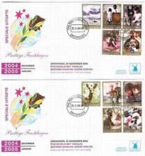 Nederland eerstedag envelop onbeschreven W-envelop W162 2x