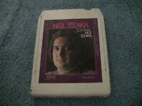 "Neil Sedaka ""Solitaire"" 8 Track Tape"