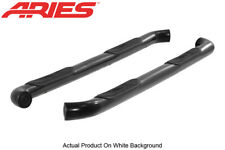 07-2018 Toyota Tundra Double Cab Black Nerf Bars Side Steps Aries 3in Round