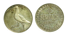 pcc1443_7) Sempach Helvetia Station Ornithologique - silver medal D=33 mm