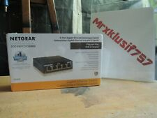 NEW Netgear 5-Port Gigabit Ethernet Unmanaged Switch - GS305