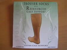 Women's Trouser Socks Moderate Support Nude Sz 6-9 New